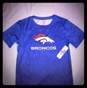 Denver Broncos Performance Tee Shirt New